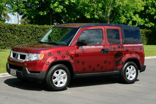 Honda Element with Dog Friendly package (2010, H1/Y1) photos | Between ...
