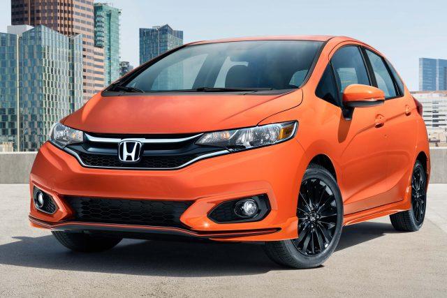 Honda Fit 2018 Facelift Third Generation GK5 USA Photos
