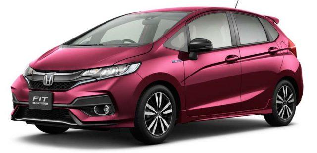 2017 Honda Fit Hybrid Facelift Front