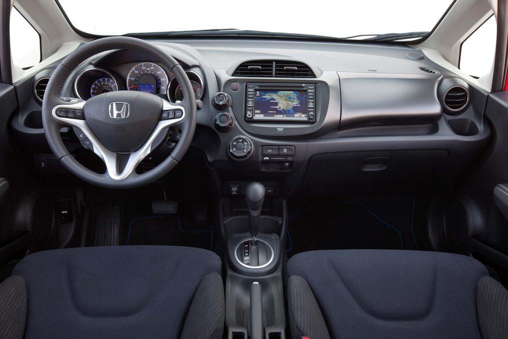 2012 Honda Fit Sport - interior, dashboard