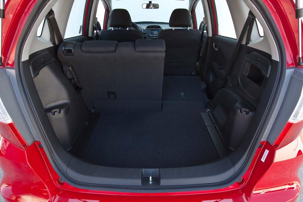 2012 Honda Fit Sport - trunk