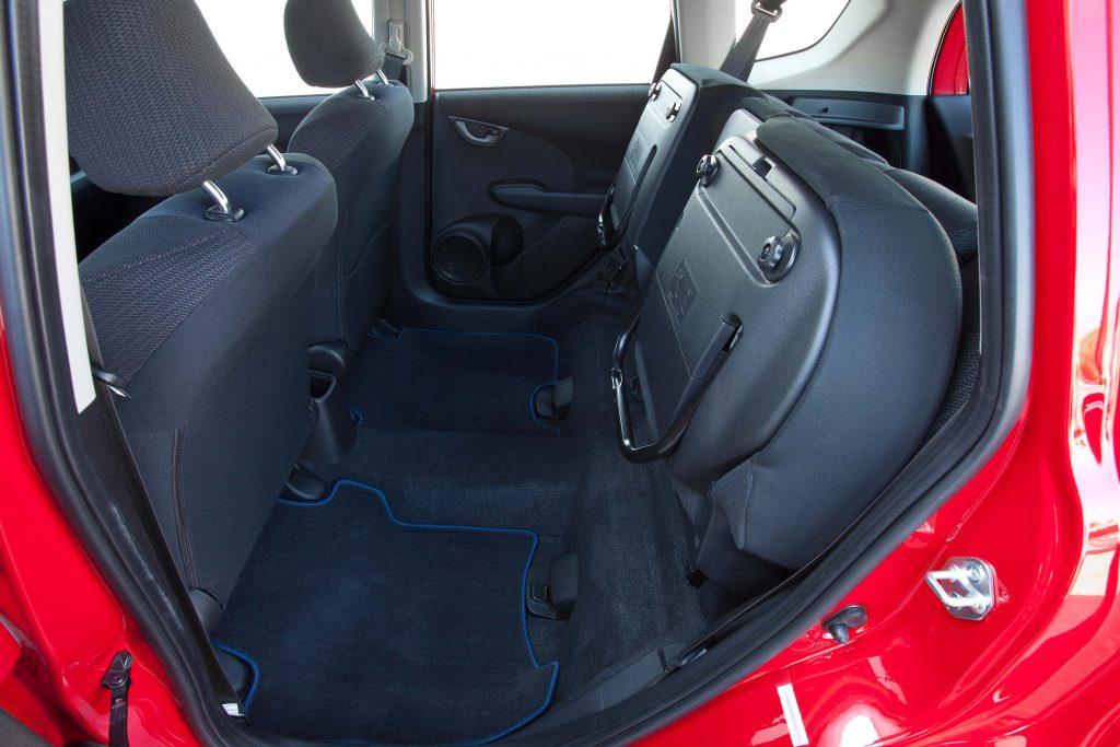 2012 Honda Fit Sport - rear Magic Seats