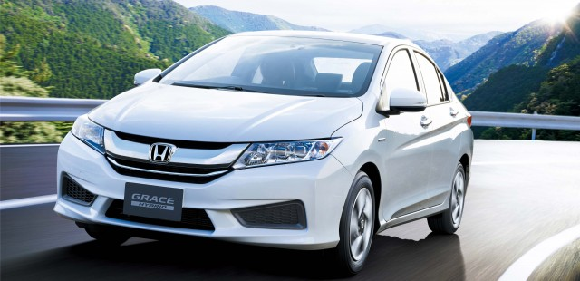 Honda Grace A JDM City Hybrid Sedan With Different Name