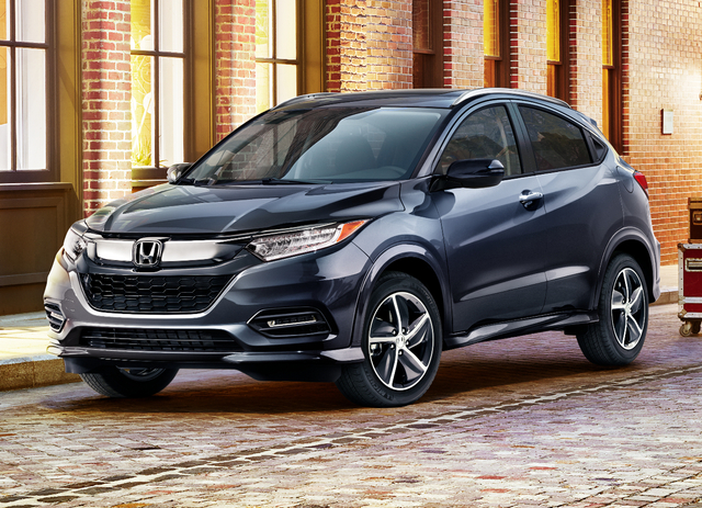 2019 Honda HR-V facelift - front