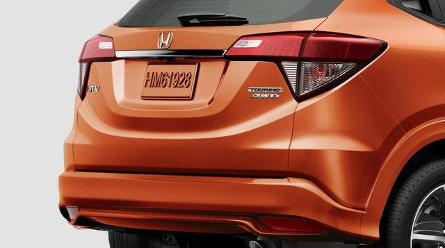 2019 Honda HR-V facelift - taillamps, rear fascia