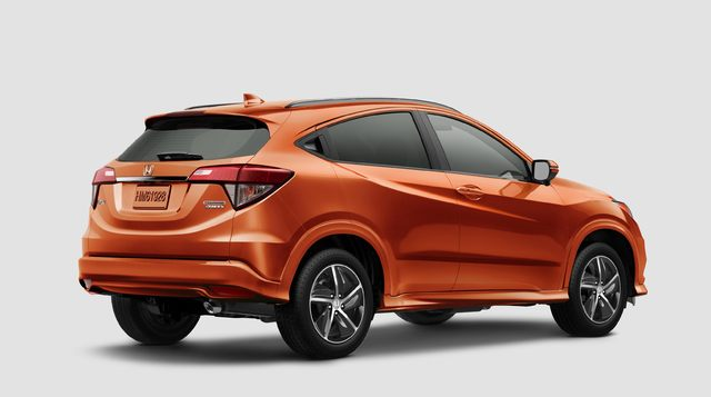 2019 Honda HR-V facelift - rear, orange