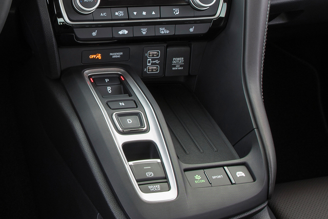 2019 Honda Insight - transmission controls