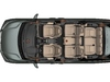 2019 Honda Odyssey - Audio Speaker Map (Prem Audio)