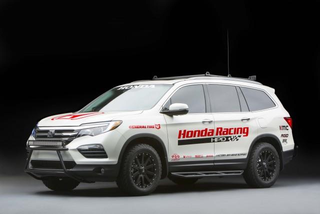 2016 Honda Pilot Baja Pre-Runner - front