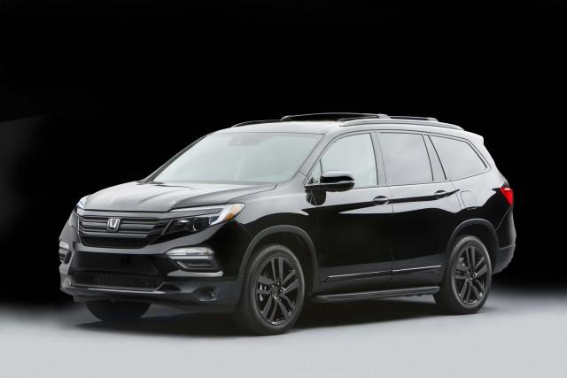2016 Honda Pilot Elite Black Edition Concept Front