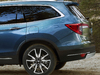 2019 Honda Pilot facelift - rear, blue