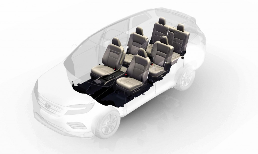 2016 Honda Pilot Seven Passenger Configuration