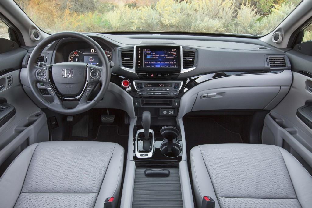 2017 Honda Ridgeline - interior, dashboard