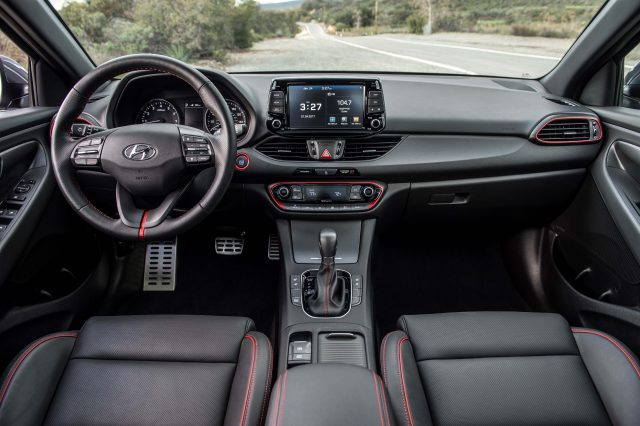 2018 Hyundai Elantra GT - interior, dashboard
