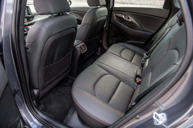 2018 Hyundai Elantra GT - rear seats
