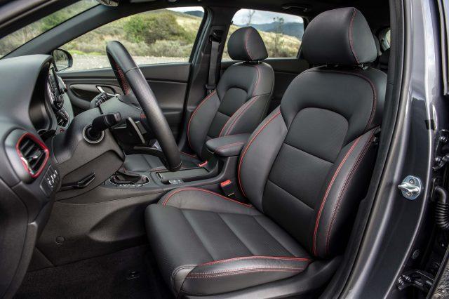 2018 Hyundai Elantra GT - front seats