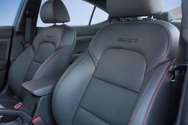 2017 Hyundai Elantra Sport - front seats