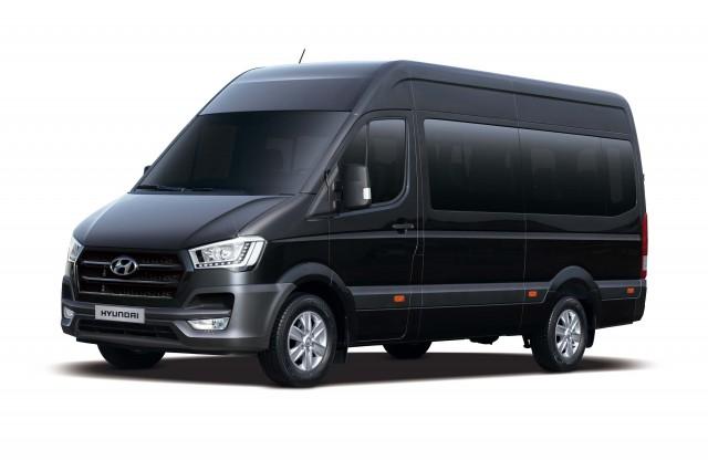 Hyundai H350 passenger van