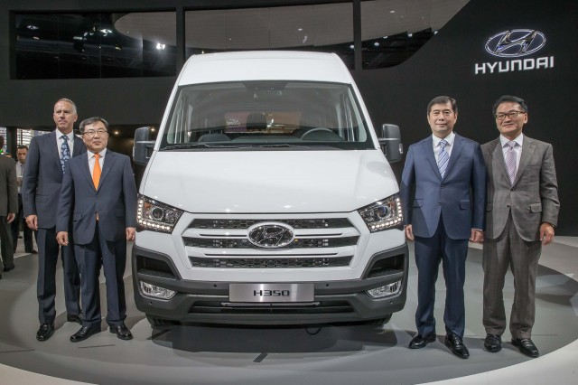Hyundai H350 - launch event