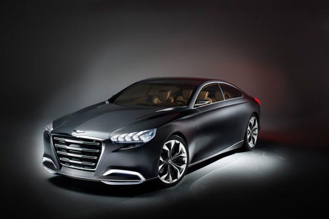 Hyundai HCD-14 Genesis concept - front