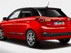 2018 Hyundai i20 facelift - rear, red