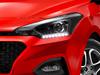 2018 Hyundai i20 facelift - headlamps