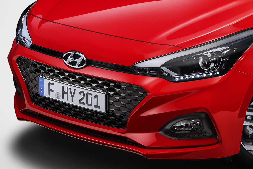 2018 Hyundai i20 facelift - grille