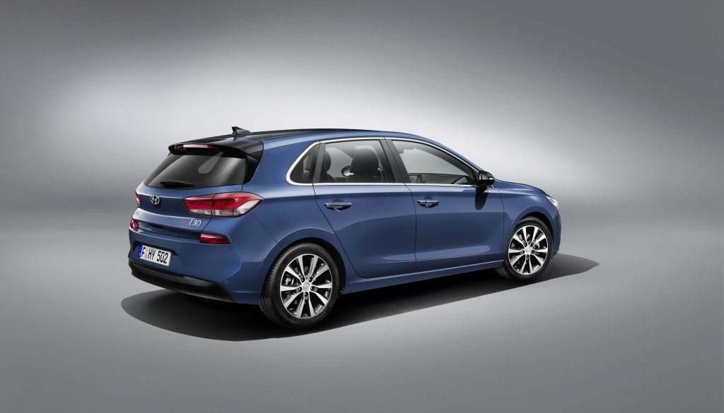2017 Hyundai i30 - rear