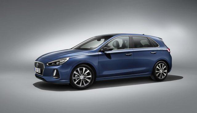 2017 Hyundai i30 - fornt profile