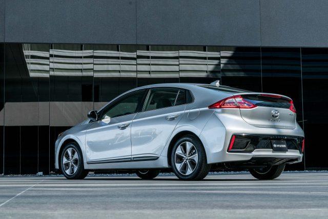 2017 Hyundai Ioniq Electric - rear