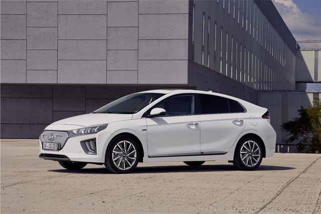 2020 Hyundai Ioniq Electric facelift