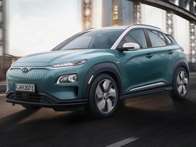2018 Hyundai Kona Electric - front