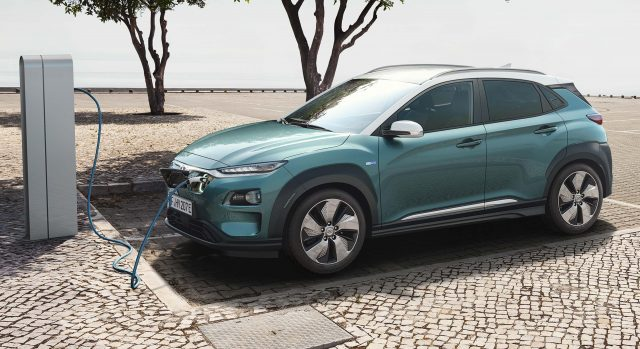 2018 Hyundai Kona Electric - charging