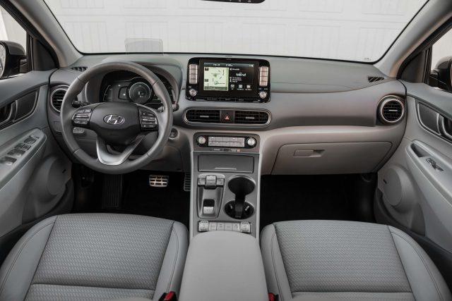 2019 Hyundai Kona EV - interior, dashboard