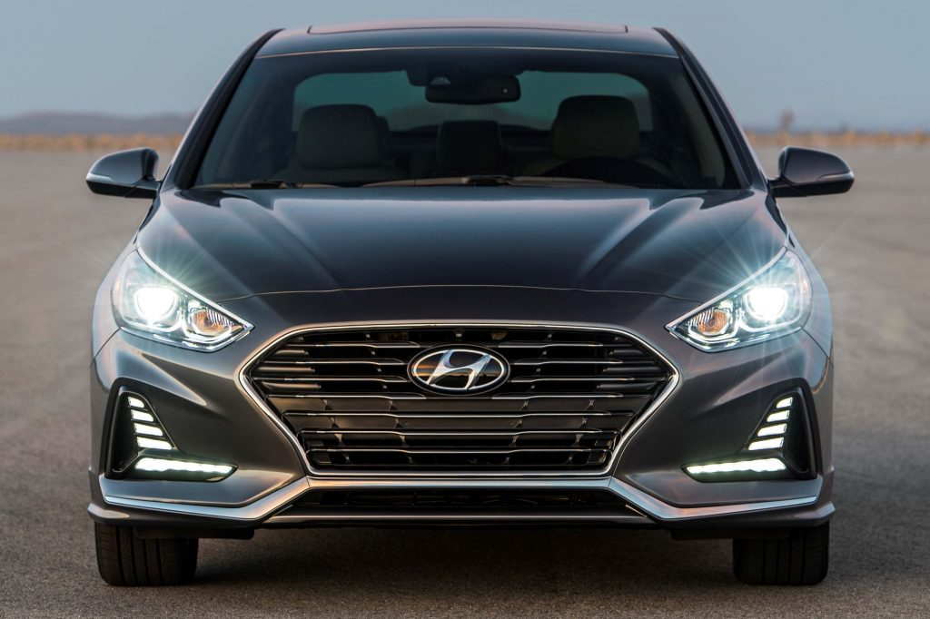 2018 Hyundai Sonata facelift - front