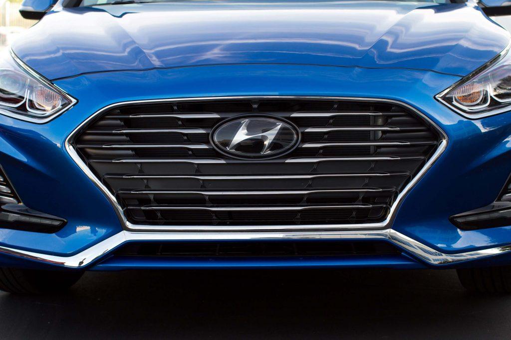 2018 Hyundai Sonata facelift - grille
