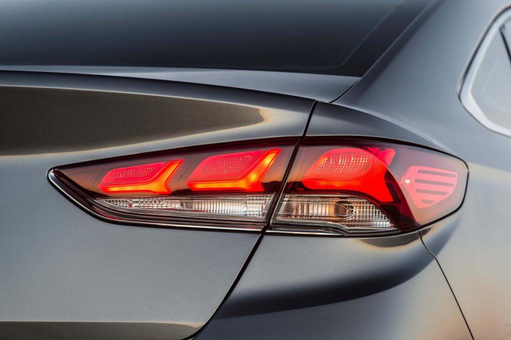 2018 Hyundai Sonata facelift - taillamps