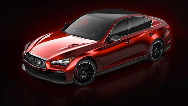Infiniti Q50 Eau Rouge Concept - front