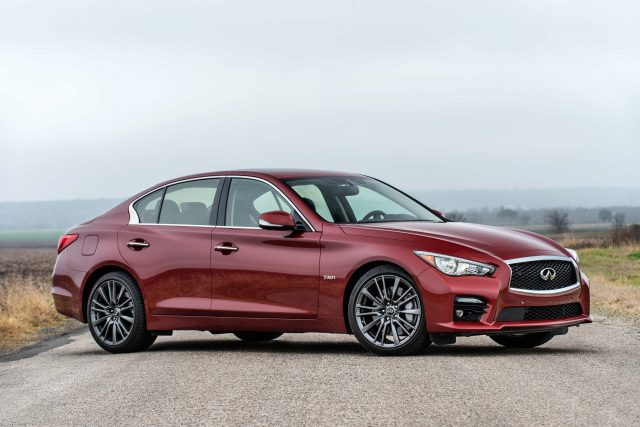 2016 Infiniti Q50 Red Sport 400 - front
