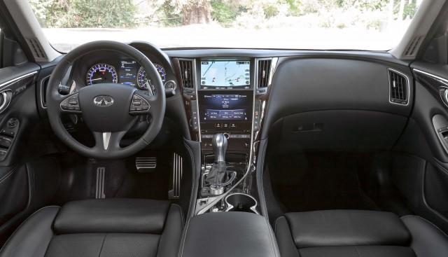 2014 Infiniti Q50 - interior