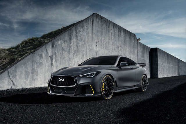 2018 Infiniti Q60 Project Black S prototype