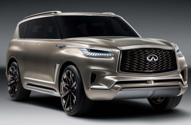 2019 Infiniti QX80: luxury Patrol/Armada previewed by ...