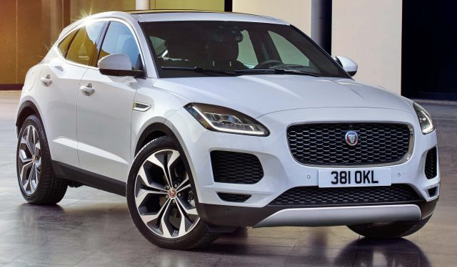 2018 Jaguar E Pace Not An Ev Suv Is First Fwd Awd Jag