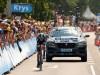 Jaguar F-Pace prototype in Team Sky 2015 Tour de France livery - Le Tour de France 2015 - Stage One