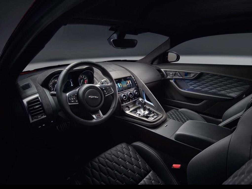 2018 Jaguar F-Type SVR coupe - interior