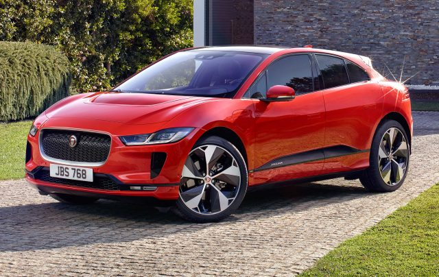 2018 Jaguar I-Pace - front, red
