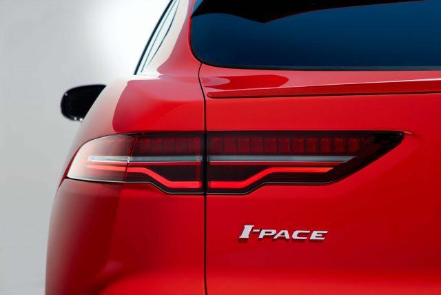 2018 Jaguar I-Pace - trunk lid, taillamps