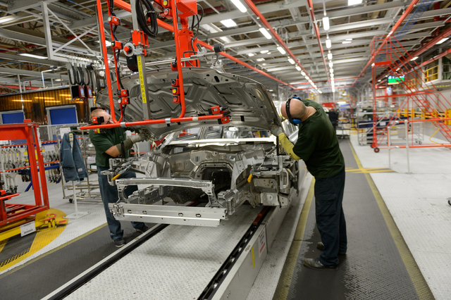 Jaguar XJ end of production at Castle Bromwich