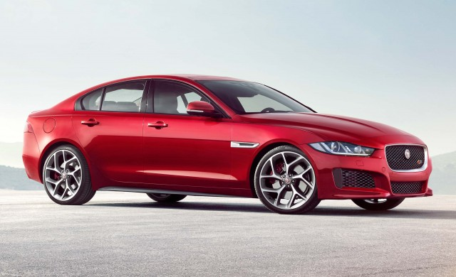 Jaguar XE S - front from low