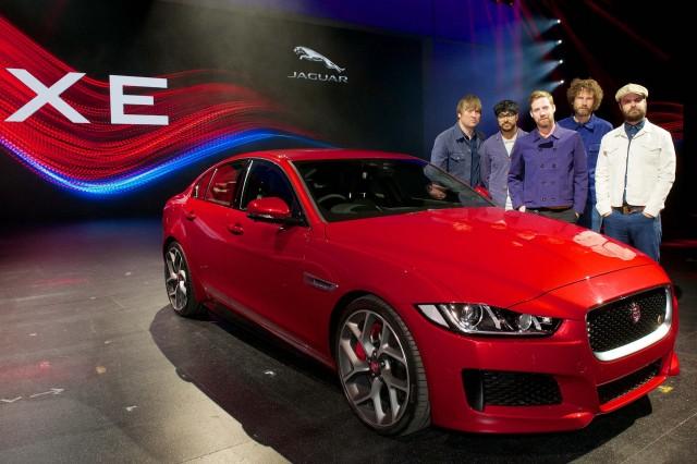 Jaguar XE S - at launch with Kaiser Chiefs